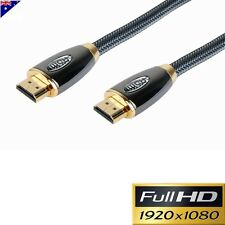 2M HDMI CABLE GOLD PLATED ULTRA PREMIUM V1.4 3D FULL HD1080p HIGH SPEED ETHERNET