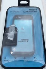 100% Authentic NEW LifeProof Apple iPod Touch 5 Case 5G Waterproof BLACK / CLEAR