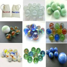 10 x Glass Marbles Various Designs 16mm Traditional Game Play