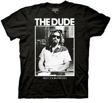 Big Lebowski The Dude Poster Officially Licensed Authentic T-shirt