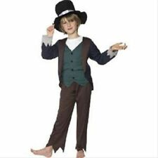 Kids Victorian Poor Boys Fancy Dress Outfit / Costume Age 4 5 6 7 8 9 10 11 12