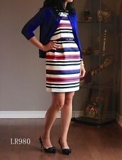 NWT J.Crew Multicolor Stripe Dress Sold Out! Size: 00 - 12