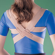 OPPO 2075 Posture Corrector Support Clavicle AC Collar Thoracic Spine Brace Pain