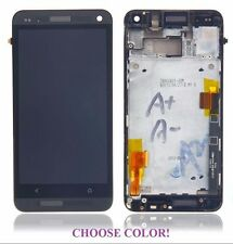 Full LCD Glass Screen digitizer Display assembly Replacement Part for HTC One M7