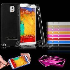 Ultra-thin Metal Aluminum Case Back Cover For Samsung Note 3 III N9000 N9005