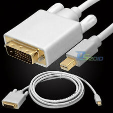 3/6.5/10Ft 1/2/3M Mini DP DisplayPort Male to DVI-D Male Cable Adapter for Mac
