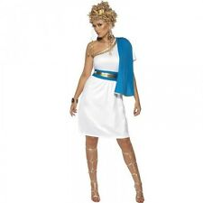 Ladies Roman Greek Goddess Beauty Toga Fancy Dress Costume - Size 8-18 30645