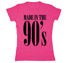 Made In The 90's Novelty Nostalgic Humor - Womens T-Shirt
