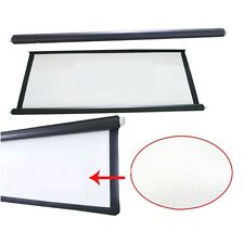 Excelvan Collapsible PVC (4:3/16:9) 60-120inch Projector Screen Material White