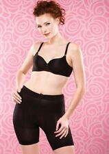 Slimmer, flatter tummy, drop a dress size! Slimshorts by Magic in black or nude