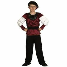 Boys Renaissance Prince Tudor Medieval Historical Fancy Dress Costume - CC540