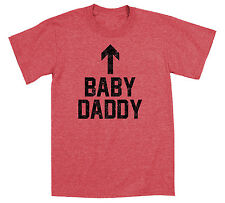 Baby Daddy Funny New Dad Humor  - Mens T-Shirt