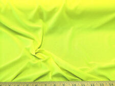 Discount Fabric  2 Way Stretch Athletic Sports Mesh Neon Yellow LY926