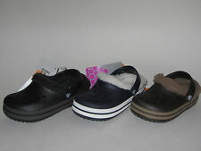 New Crocs CROCBAND MAMMOTH KIDS Clog Shoes Boys Girls SZ 6/7 8/9 10/11