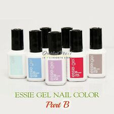 ESSIE Gel Color PART B  Pick ANY Shade Soak Off UV LED Nail Polish Base Top Coat