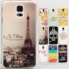 Rubberized Deluxe Matte Tower Hard case cover skin for Samsung GALAXY S5 i9600