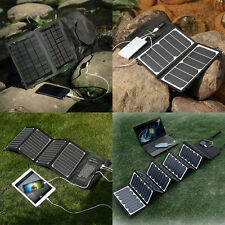 Poweradd Solar Panel Mobile Power Bank Charger For Phone Tablet Laptop PC Camera