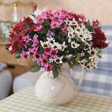 1 PCS Bouquet Artificial Small Chrysanthemum Daisy Silk Flower NO VASE F199