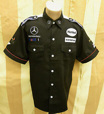 SHIRT F1 Formula One 1 McLaren Mercedes Team Raceshirt