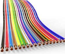 AUPROTEC 5m automotive 0.75 mm² thinwall electrical auto cable wire 31 colours