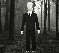 Boys Slenderman Costume Suit. For Halloween Kids of All ages. Suit Only No Mask