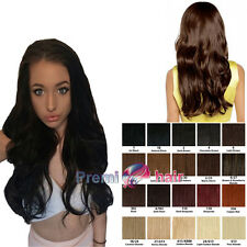 Long loose wavy volume Hair Fall Half Wig hairpiece Various colours