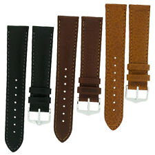 HIRSCH FOREST SOFT CALF LEATHER WATCH STRAP and BUCKLE