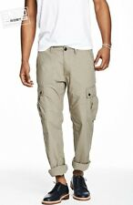 Armani Exchange A|X Men's Roll Up Belted Cargo Pants