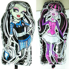 "Jumbo! New 24.4"" MONSTER HIGH FOIL BALLOON BIRTHDAY PARTY SUPPLIES-1PIECE"