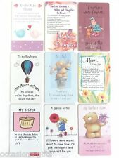 Wallet Purse Keepsake Card Choice of Designs FAMILY