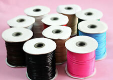Waxed Cord 2mm Jewellery Making Cord, Thread & Wire Length 10M in 10 colors U