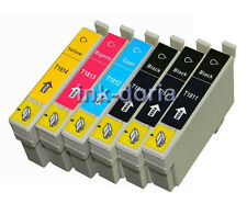 6 XL Ink Cartridges Replace for Epson Expression Home XP Inkjet Printers