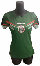 Womens Mexico National Team Green Jersey Stretch Sublimation Soccer Futbol 2014