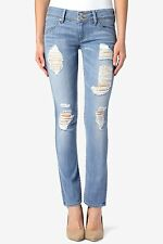 Hudson Jean Collin Low Rise Skinny Flap Women Denim Size 24 - 32 Friends