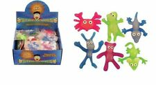 STRETCHY GLOW IN THE DARK ANIMALS KIDS CHILDRENS PARTY BAG FILLERS TOYS 4-5CM