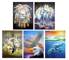 NEW Animal 3D Pictures Lenticular Art Picture Print Wall Decor Image