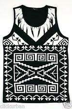 Men's CRANK Streetwear Cut and Sew Quilted Basketball Jersey  Size S - XL
