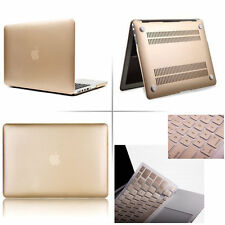Champagne Gold Rubberized case keyboard cover Macbook Pro Air Retina 11 13 15""