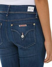 Hudson Jeans Collin Mid Rise Skinny Womens Denim Sizes 25 - 29 Bardot