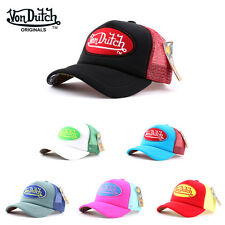 NEW 2003 Authentic Von Dutch Baseball Mesh Cap Water Cap Trucker Adjustable Hat