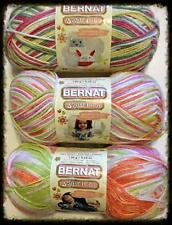 Your Choice Softee Baby Yarn by Bernat 120 Grams Very Soft Two Different Colors