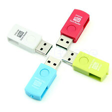 USB 2.0 OTG Micro Card Reader Flash Drive Storage For Smart Phone Tablet