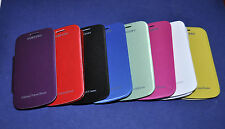 Samsung Galaxy S Duos S7562/S Duos 2 S7582 LEATHER FLIP BACK REPLACE COVER CASE.
