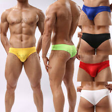 New Sexy Men Mini Boxer Briefs Underwear Comfy Bulge Pouch Bikini Mini Boxers