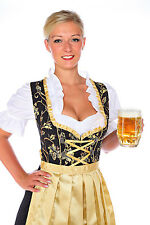 1174-3 pc German Dirndl Dress size:4,6,8,10,12,14,16,18,20,22