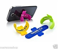 SUPPORTO IN SILICONE PER IPHONE  SAMSUNG GALAXY SMARTPHONE CELLULARE TOUCH