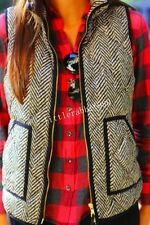 NWT J.Crew Excursion Quilted Puffer Vest in Herringbone Size:XXS XS S M L XL XXL