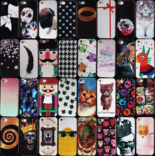 Diamond cartoon Fashion TPU silicone case IMD Rubber cover skin for iphone 5 5S