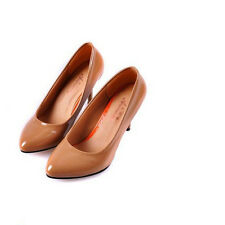 2014 Women's Charm Pumps High Slim Heels  Patent Leather Casual Shoes CA EF