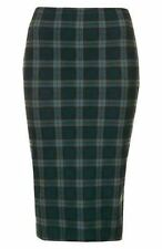 Black Watch Green Tartan Tube Skirt